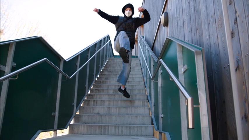 Die Treppenchallenge